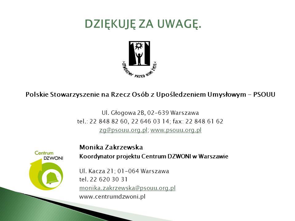 Polskie Stowarzyszenie na Rzecz Osób z Upośledzeniem Umysłowym - PSOUU