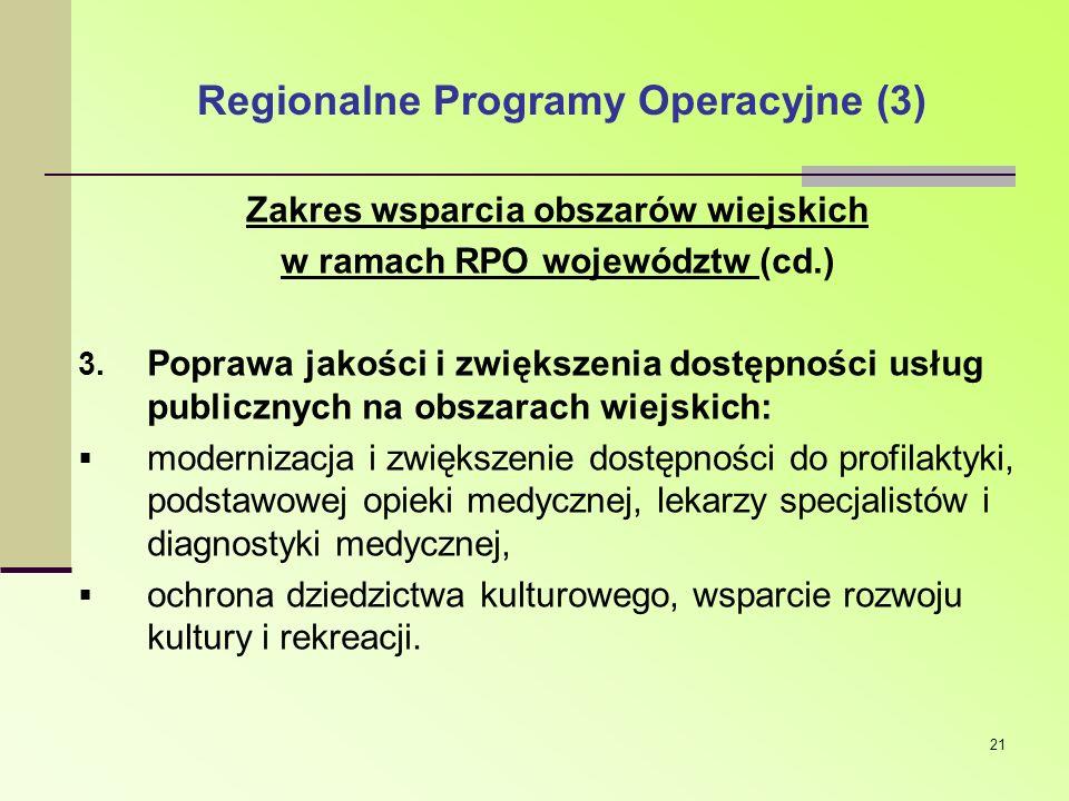 Regionalne Programy Operacyjne (3)