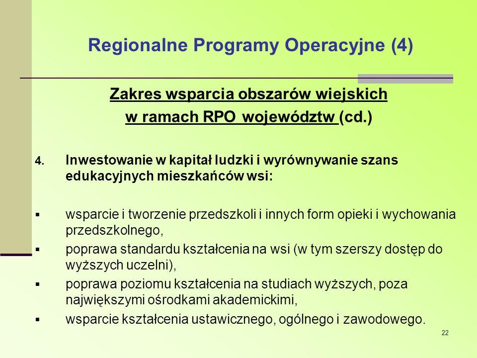 Regionalne Programy Operacyjne (4)