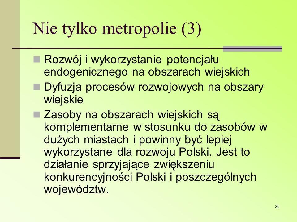 Nie tylko metropolie (3)