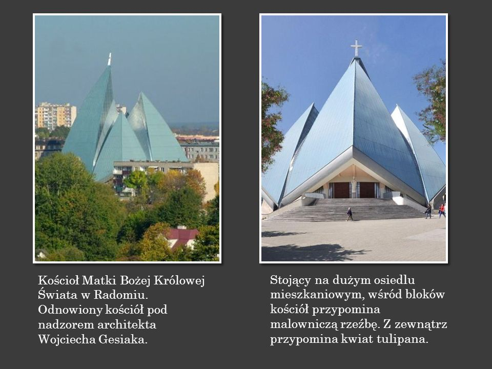 Kościoł Matki Bożej Królowej Świata w Radomiu