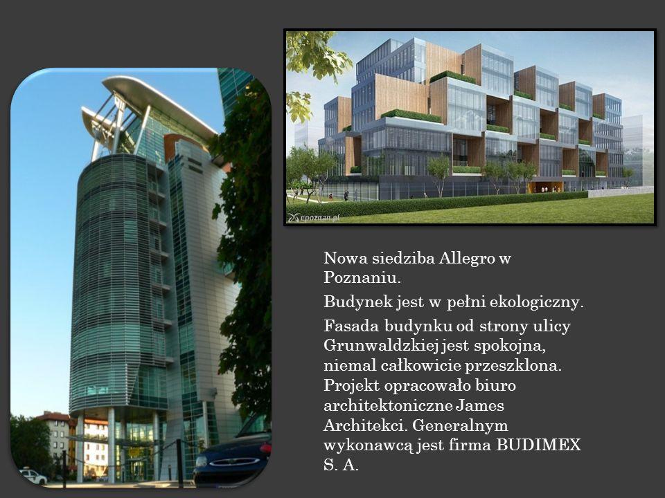 Nowa siedziba Allegro w Poznaniu.