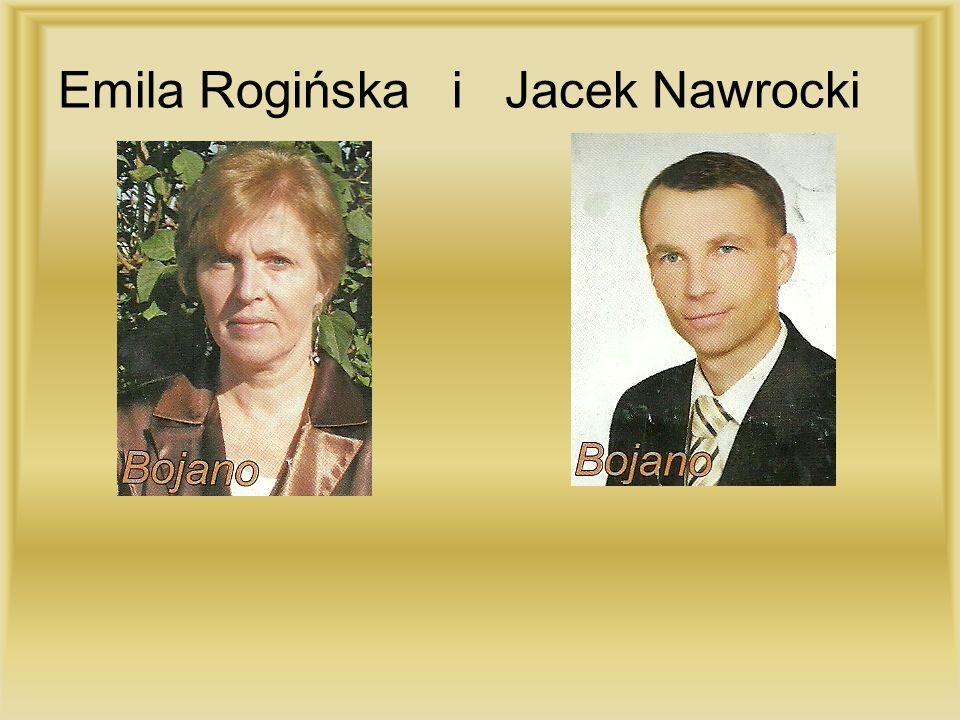 Emila Rogińska i Jacek Nawrocki