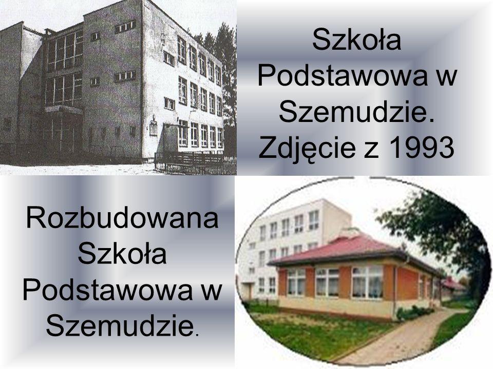 Szkoła Podstawowa w Szemudzie. Zdjęcie z 1993