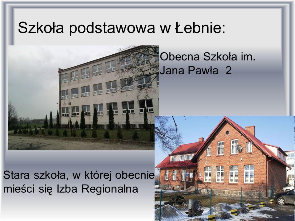 Szkoła podstawowa w Łebnie: