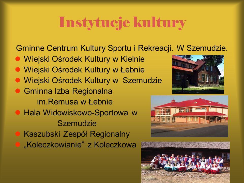 Gminne Centrum Kultury Sportu i Rekreacji. W Szemudzie.