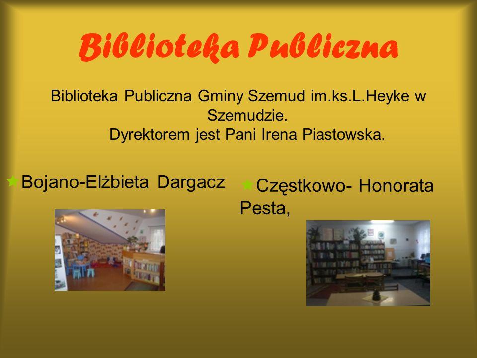 Biblioteka Publiczna Bojano-Elżbieta Dargacz