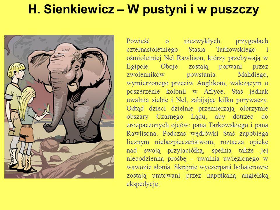 H. Sienkiewicz – W pustyni i w puszczy