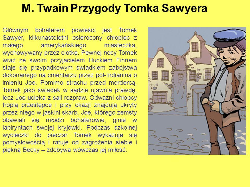 M. Twain Przygody Tomka Sawyera