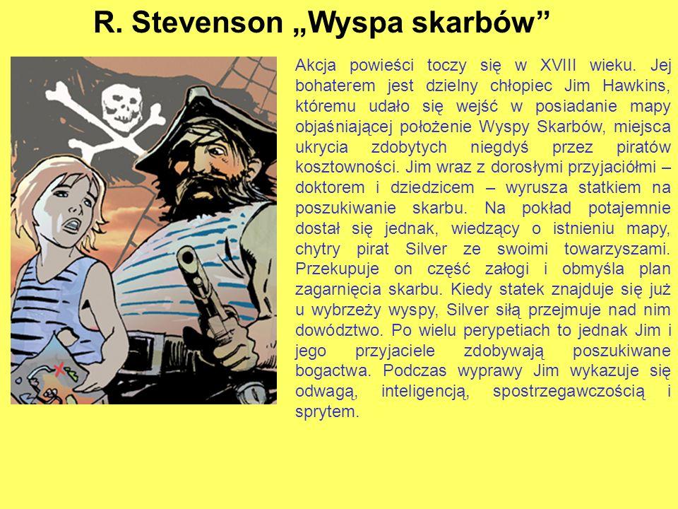 """R. Stevenson """"Wyspa skarbów"""