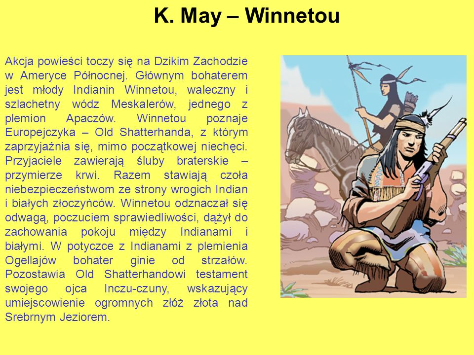 K. May – Winnetou