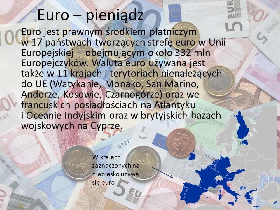 Euro – pieniądz