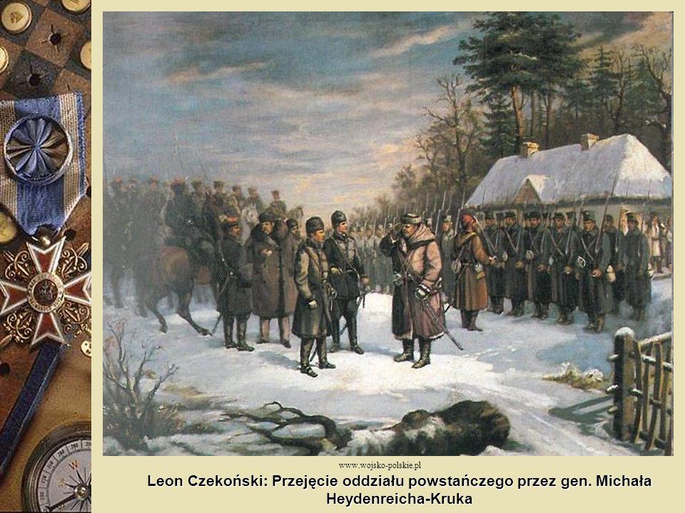www.wojsko-polskie.pl Leon Czekoński: Przejęcie oddziału powstańczego przez gen.