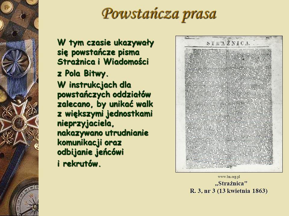"""""""Strażnica R. 3, nr 3 (13 kwietnia 1863)"""