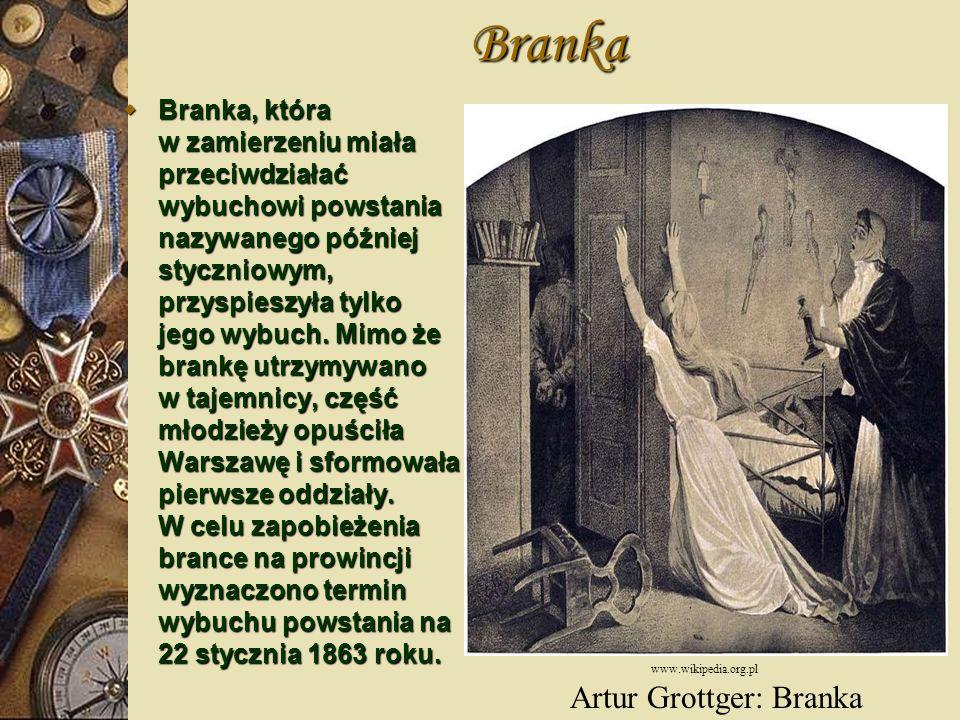 Artur Grottger: Branka