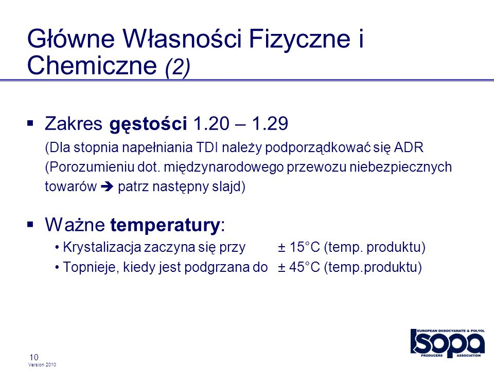 Główne Własności Fizyczne i Chemiczne (2)