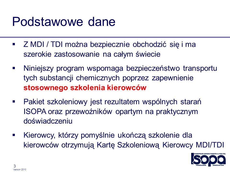 Podstawowe dane Z MDI / TDI można bezpiecznie obchodzić się i ma szerokie zastosowanie na całym świecie.