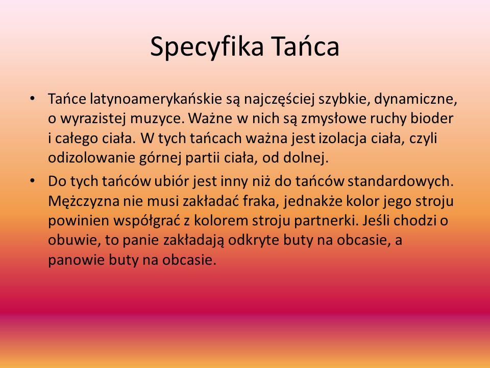 Specyfika Tańca