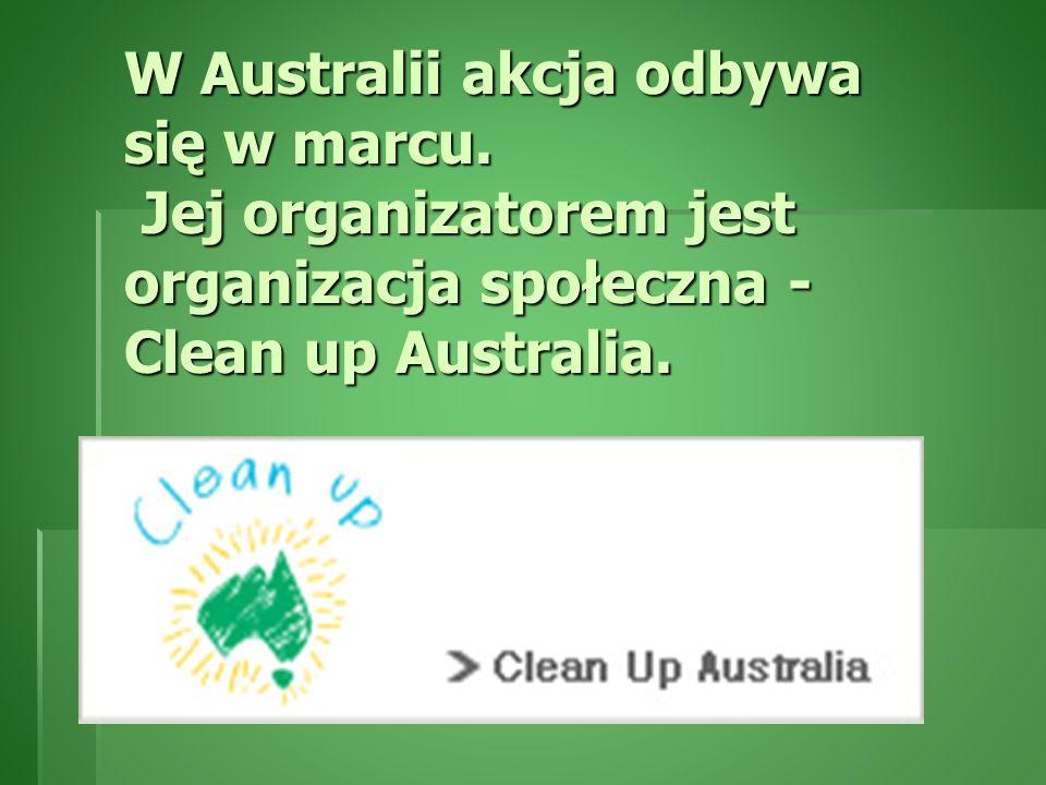 W Australii akcja odbywa się w marcu