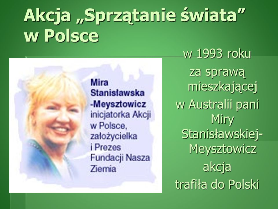 """Akcja """"Sprzątanie świata w Polsce"""