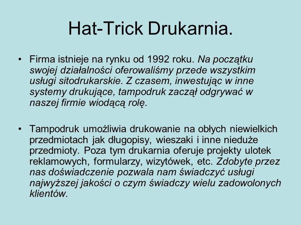 Hat-Trick Drukarnia.