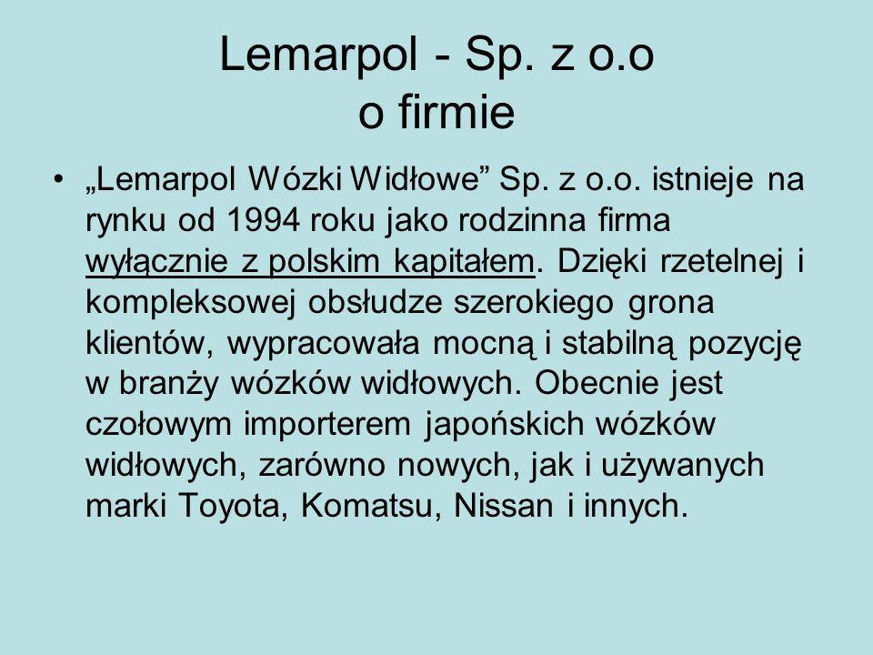Lemarpol - Sp. z o.o o firmie