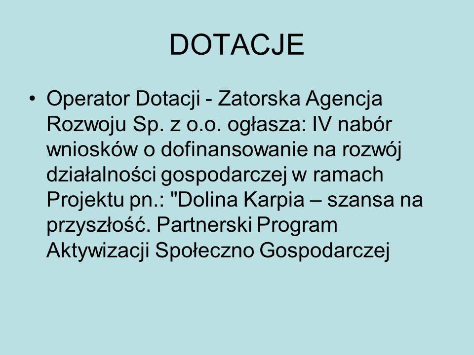 DOTACJE