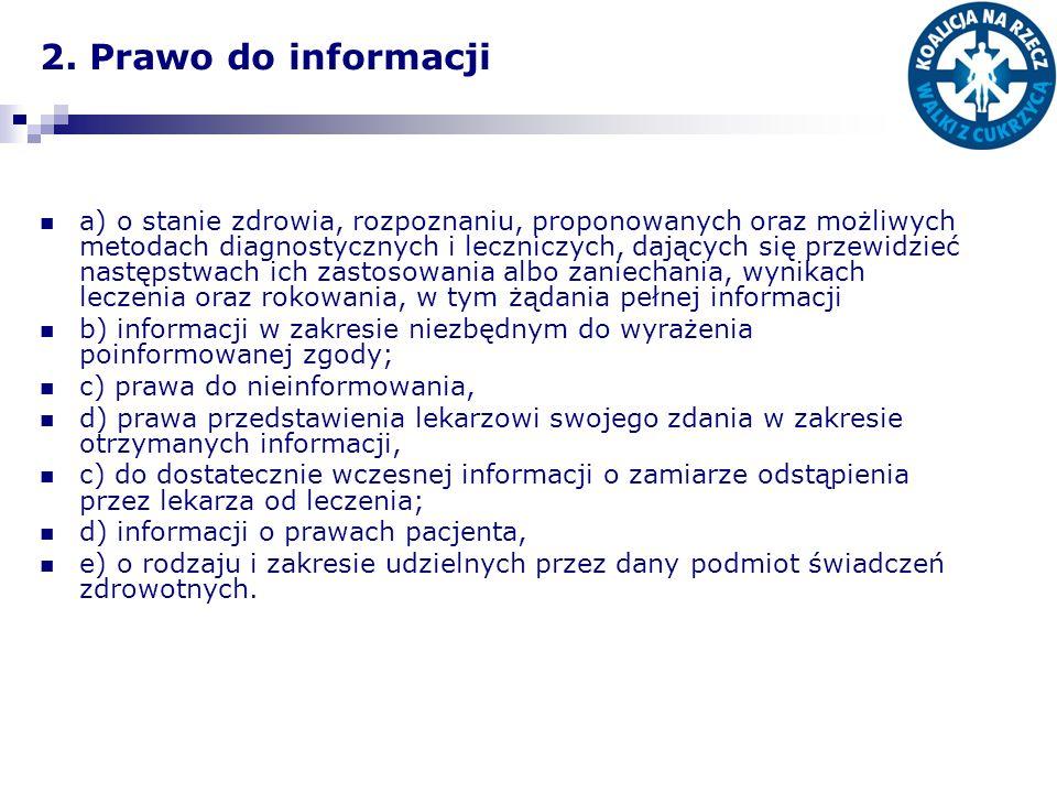 2. Prawo do informacji