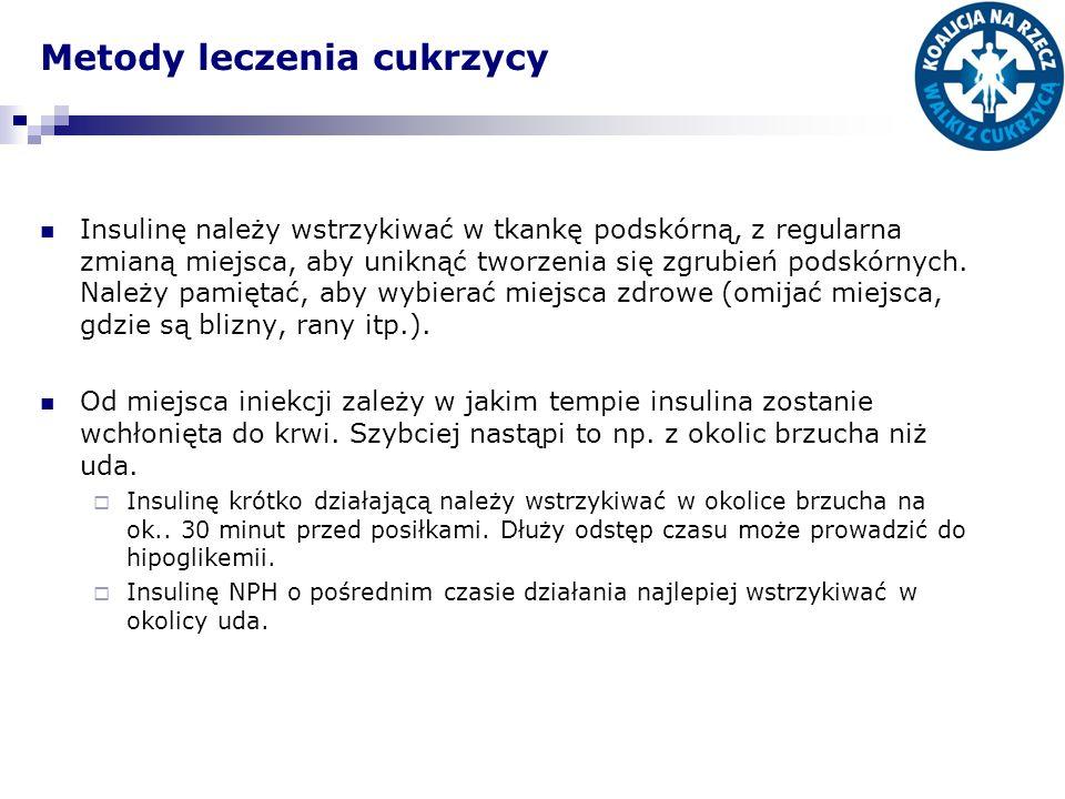 Metody leczenia cukrzycy
