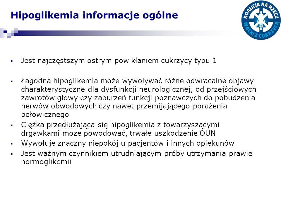 Hipoglikemia informacje ogólne