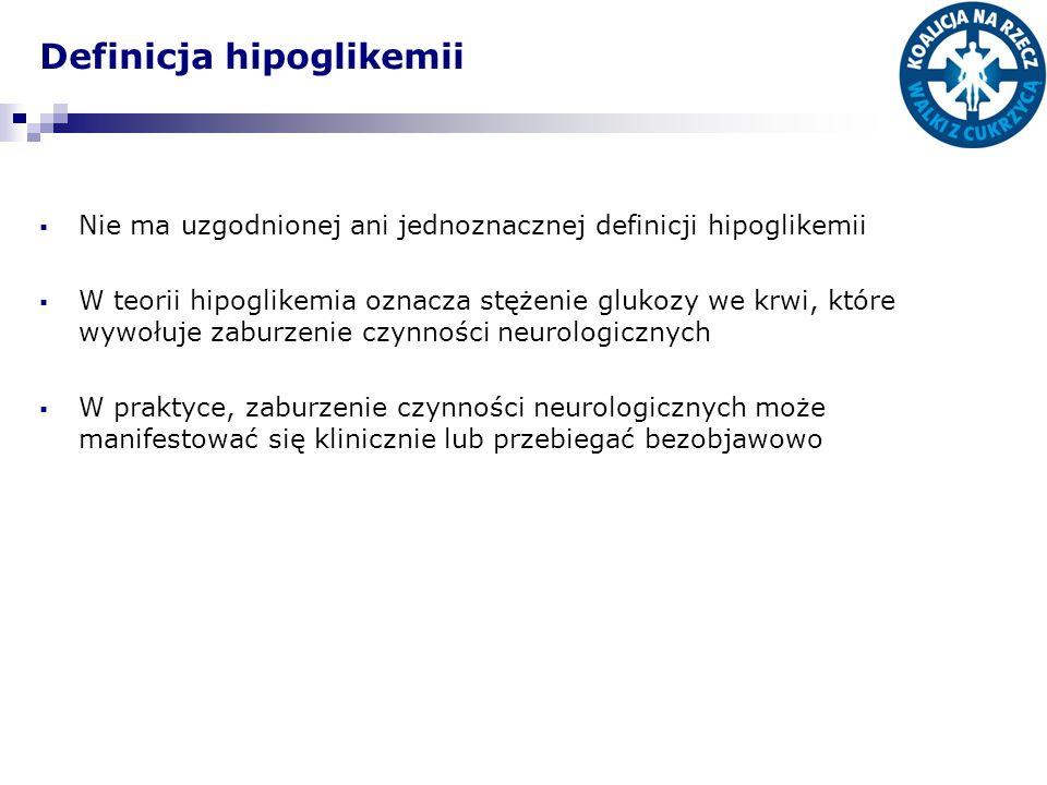 Definicja hipoglikemii