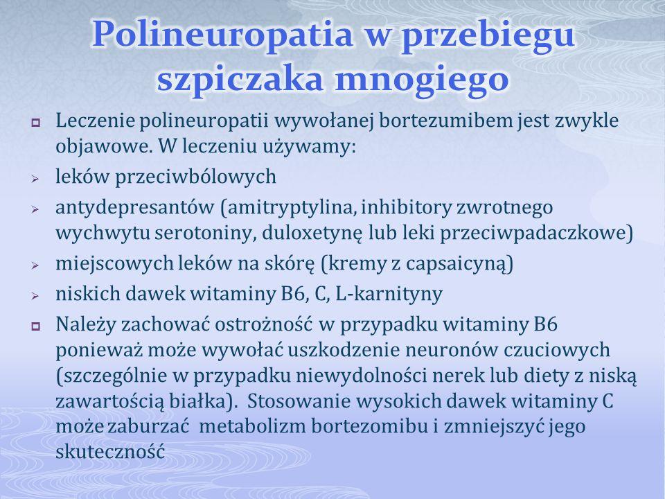 Polineuropatia w przebiegu szpiczaka mnogiego