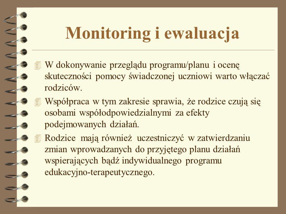Monitoring i ewaluacja