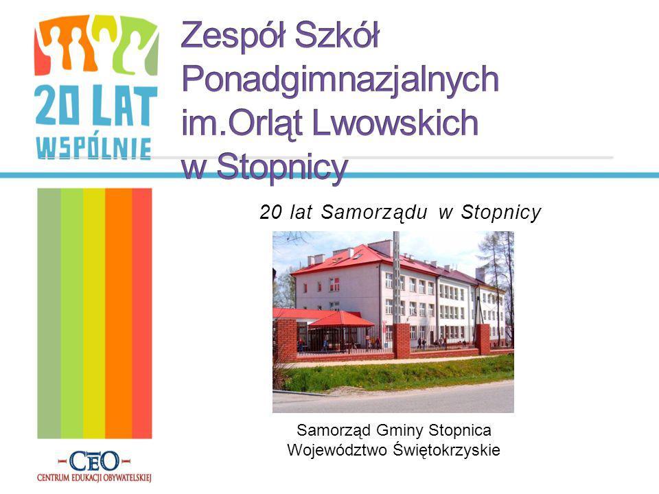 Zespół Szkół Ponadgimnazjalnych im.Orląt Lwowskich w Stopnicy