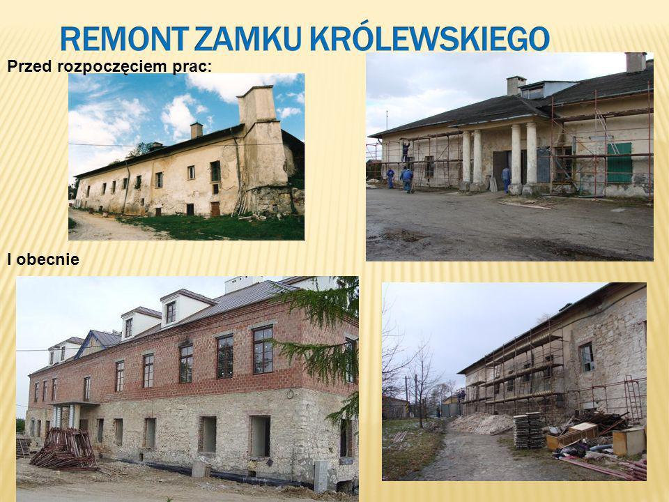 Remont Zamku Królewskiego