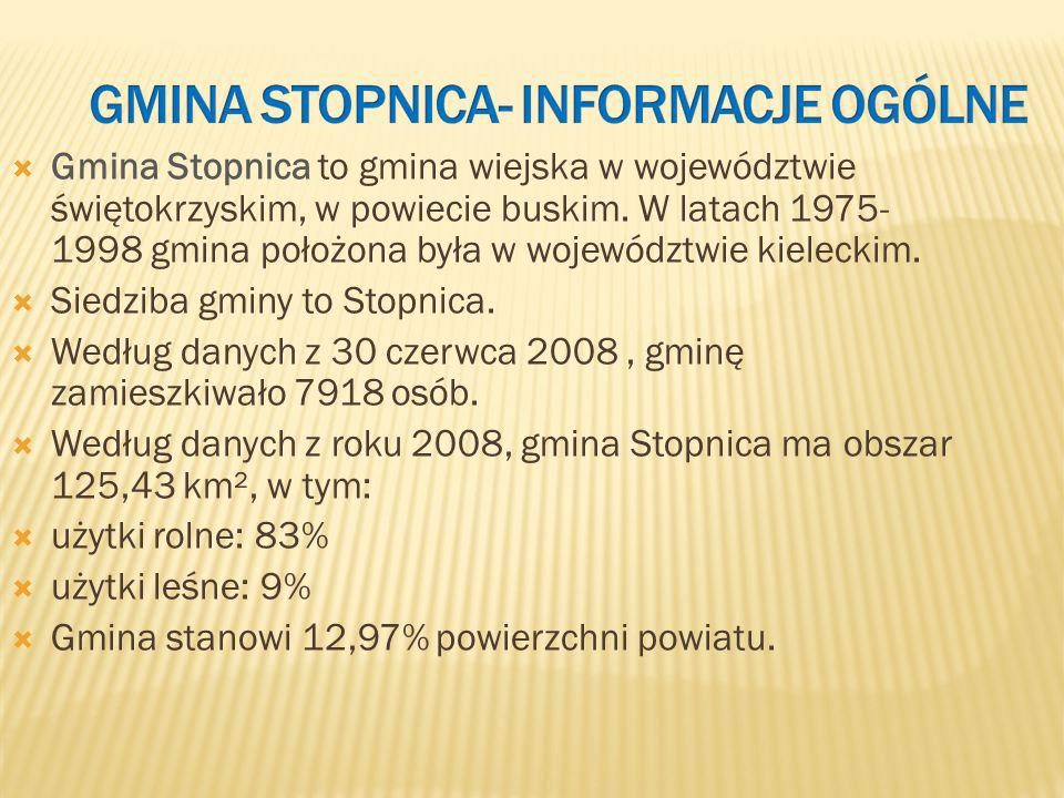 Gmina Stopnica- informacje ogólne