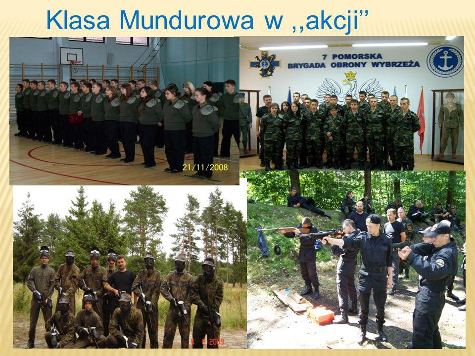 Klasa Mundurowa w ,,akcji''