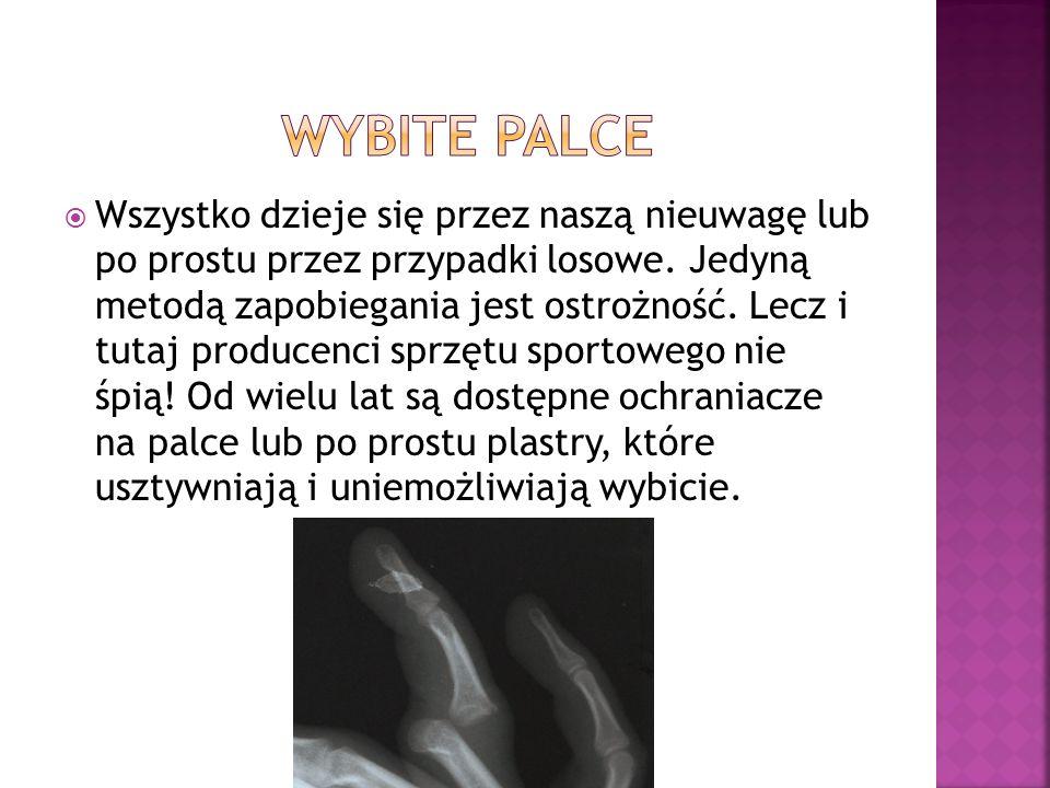 Wybite palce