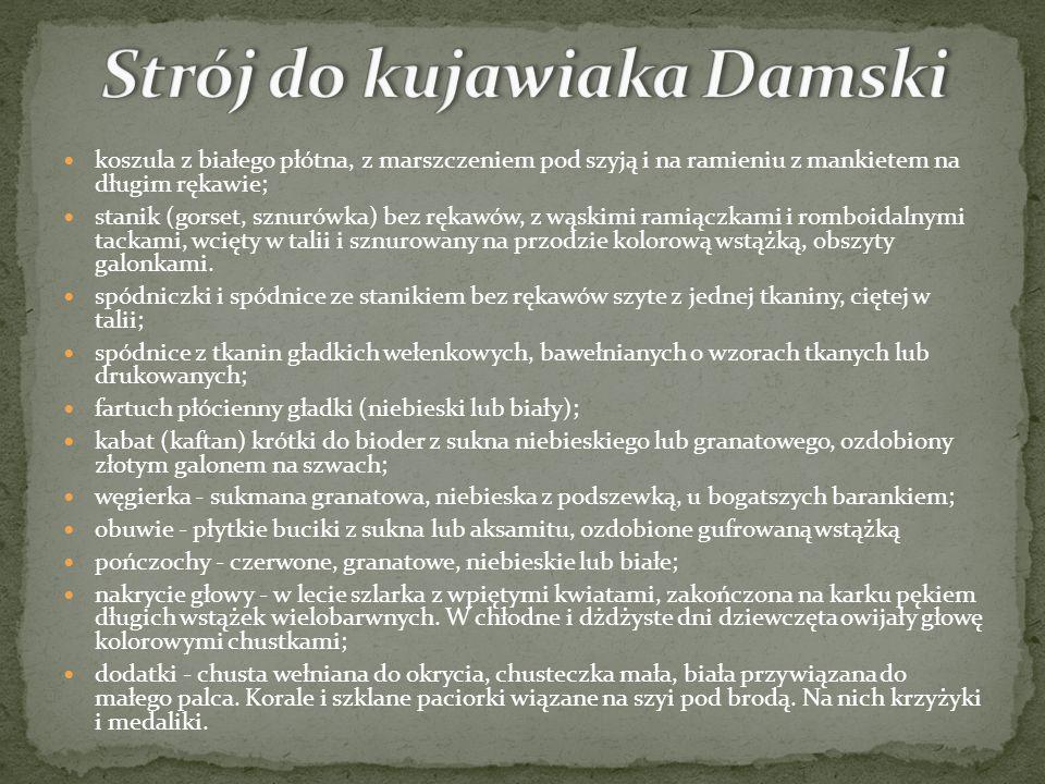 Strój do kujawiaka Damski