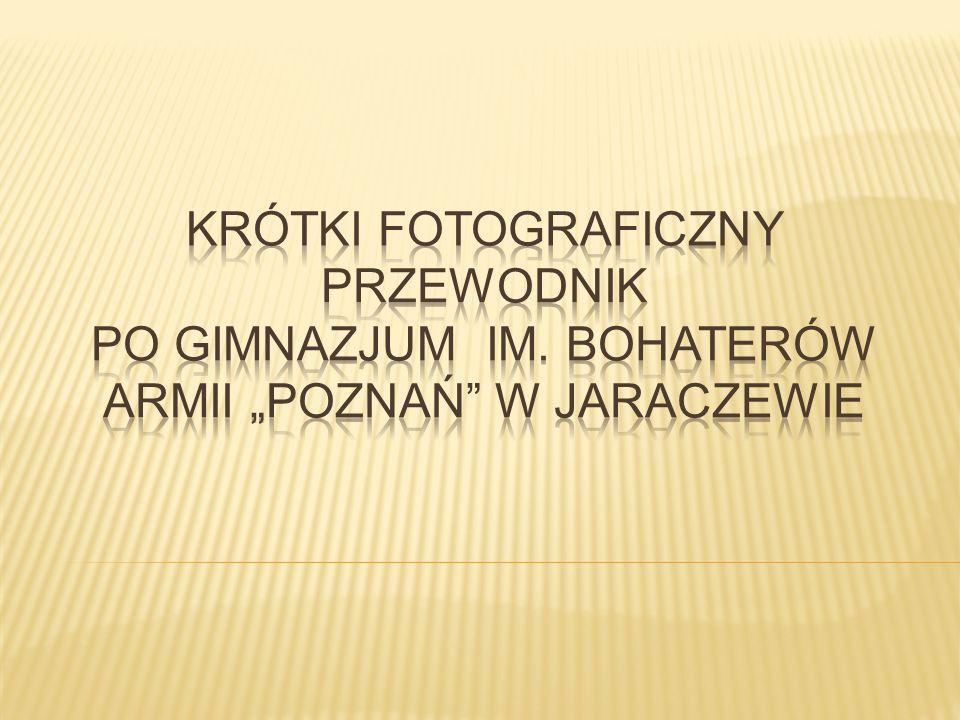Krótki fotograficzny przewodnik po Gimnazjum im