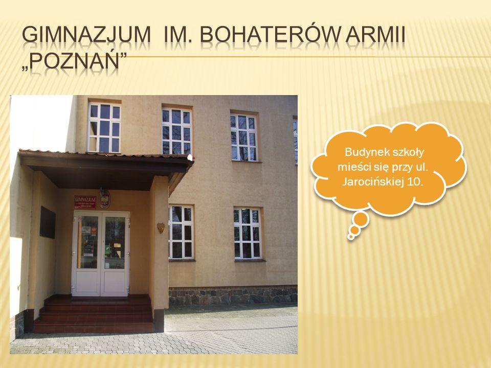 """Gimnazjum im. Bohaterów Armii """"Poznań"""