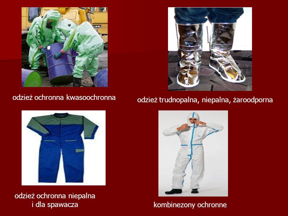 odzież ochronna niepalna i dla spawacza