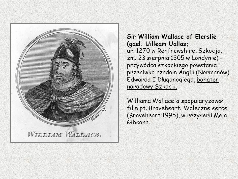 Sir William Wallace of Elerslie