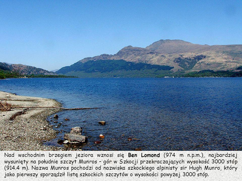 Nad wschodnim brzegiem jeziora wznosi się Ben Lomond (974 m n. p. m