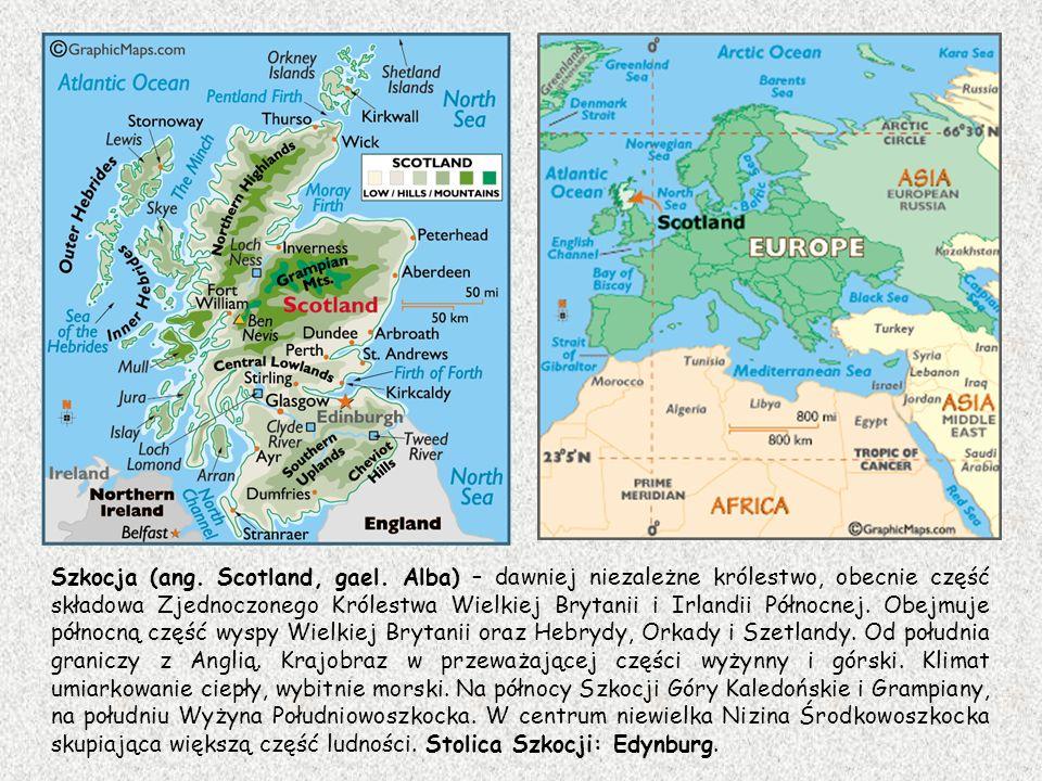 Szkocja (ang. Scotland, gael