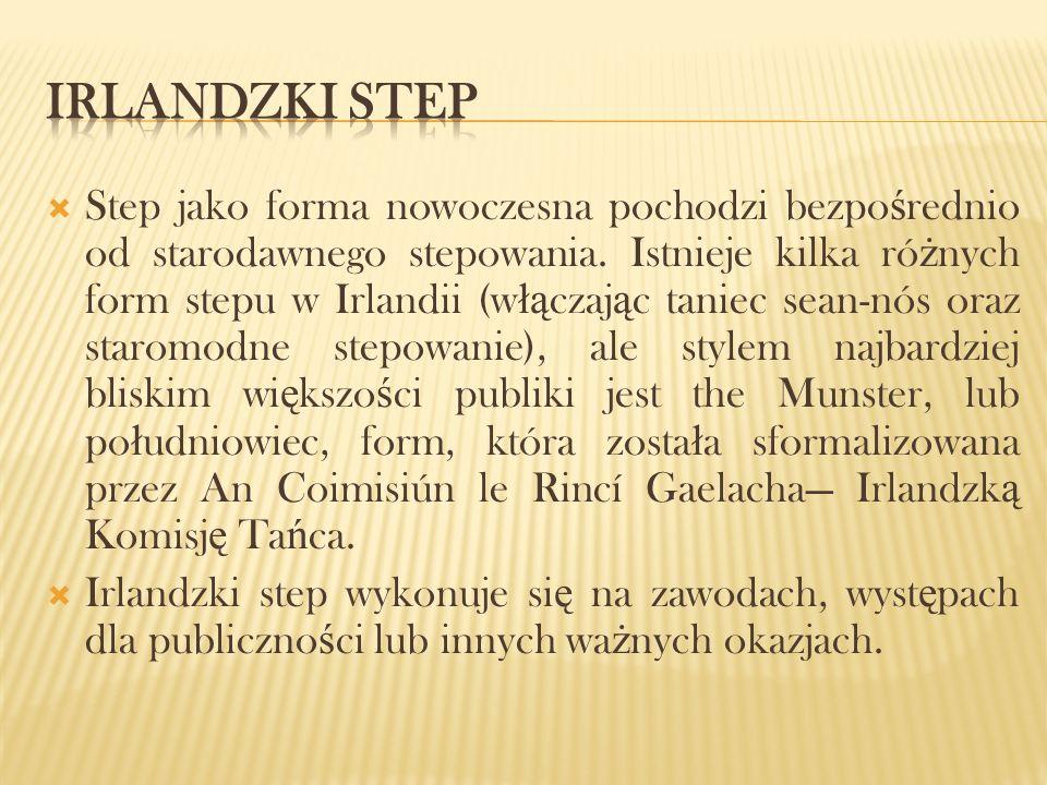 IrLANDZKI STEP