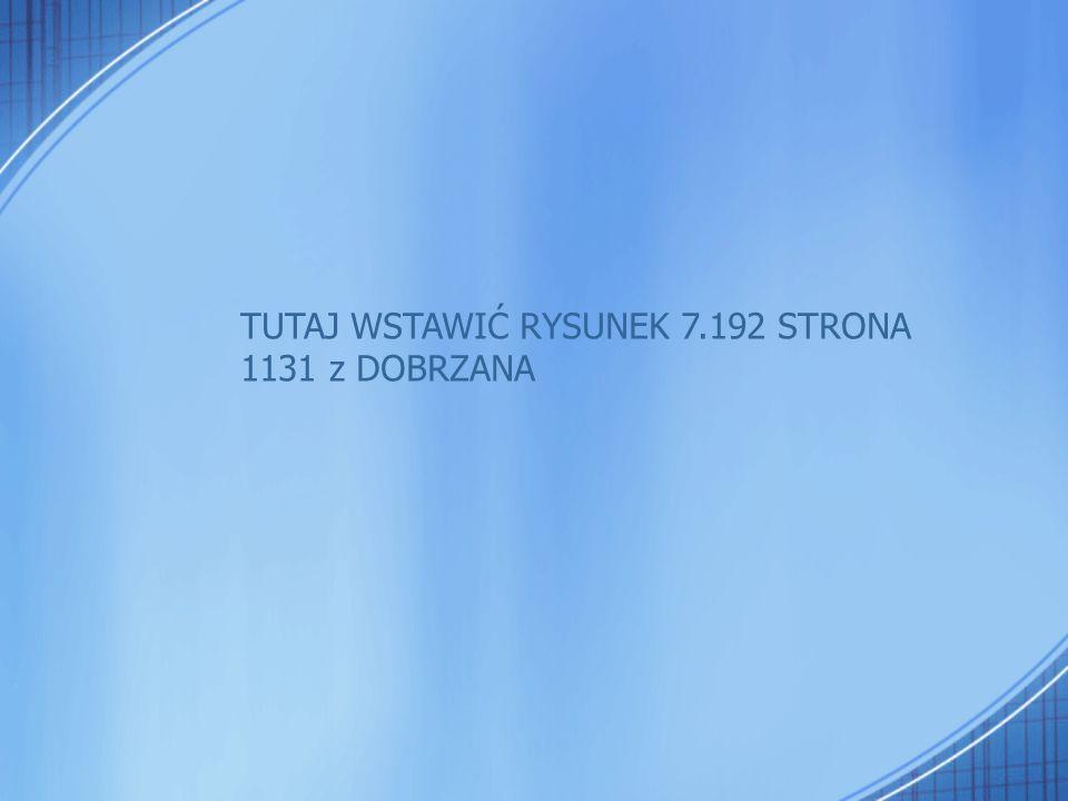 TUTAJ WSTAWIĆ RYSUNEK 7.192 STRONA
