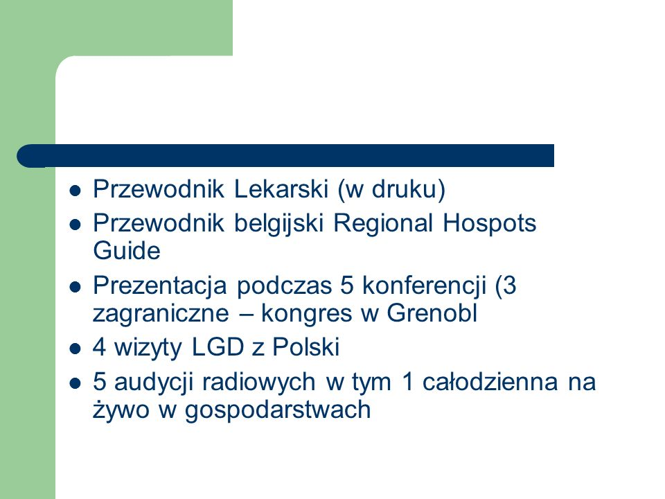 Przewodnik Lekarski (w druku)