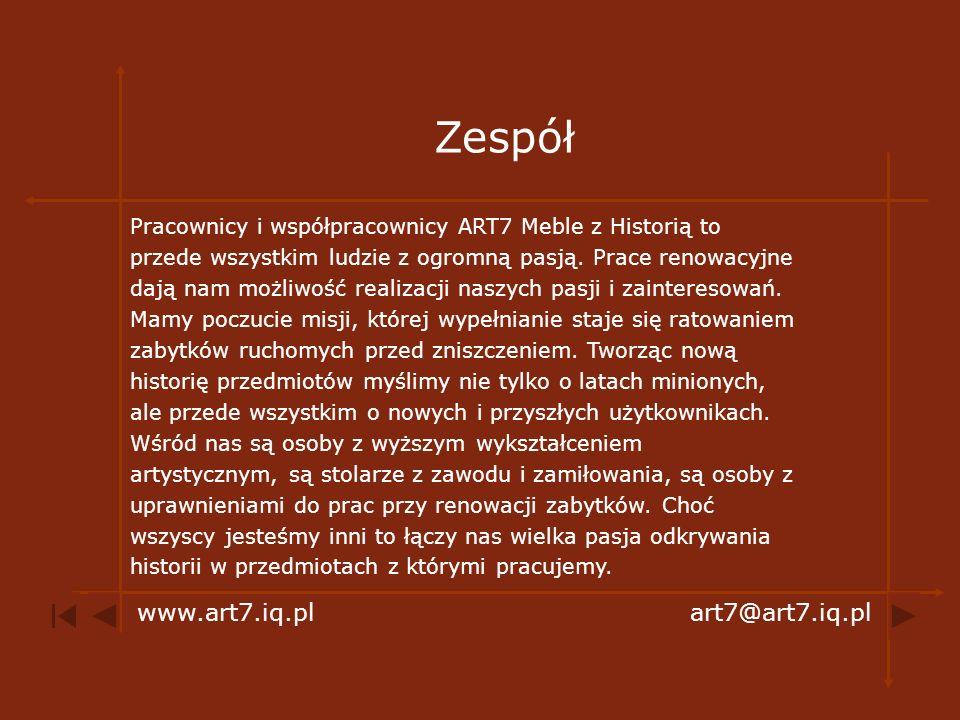 Zespół www.art7.iq.pl art7@art7.iq.pl