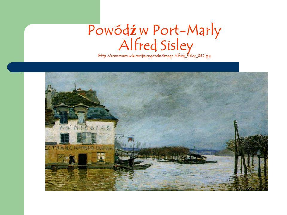 Powódź w Port-Marly Alfred Sisley http://commons. wikimedia